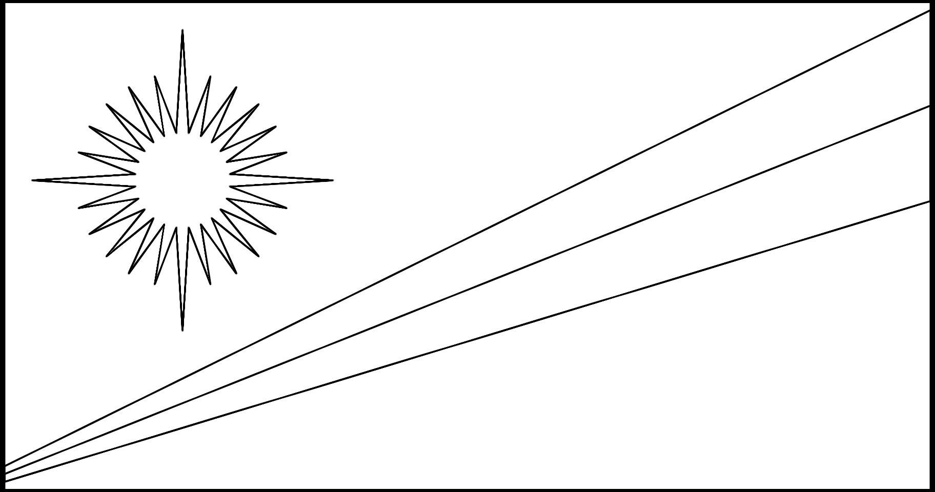 Marshall Islands State Flag