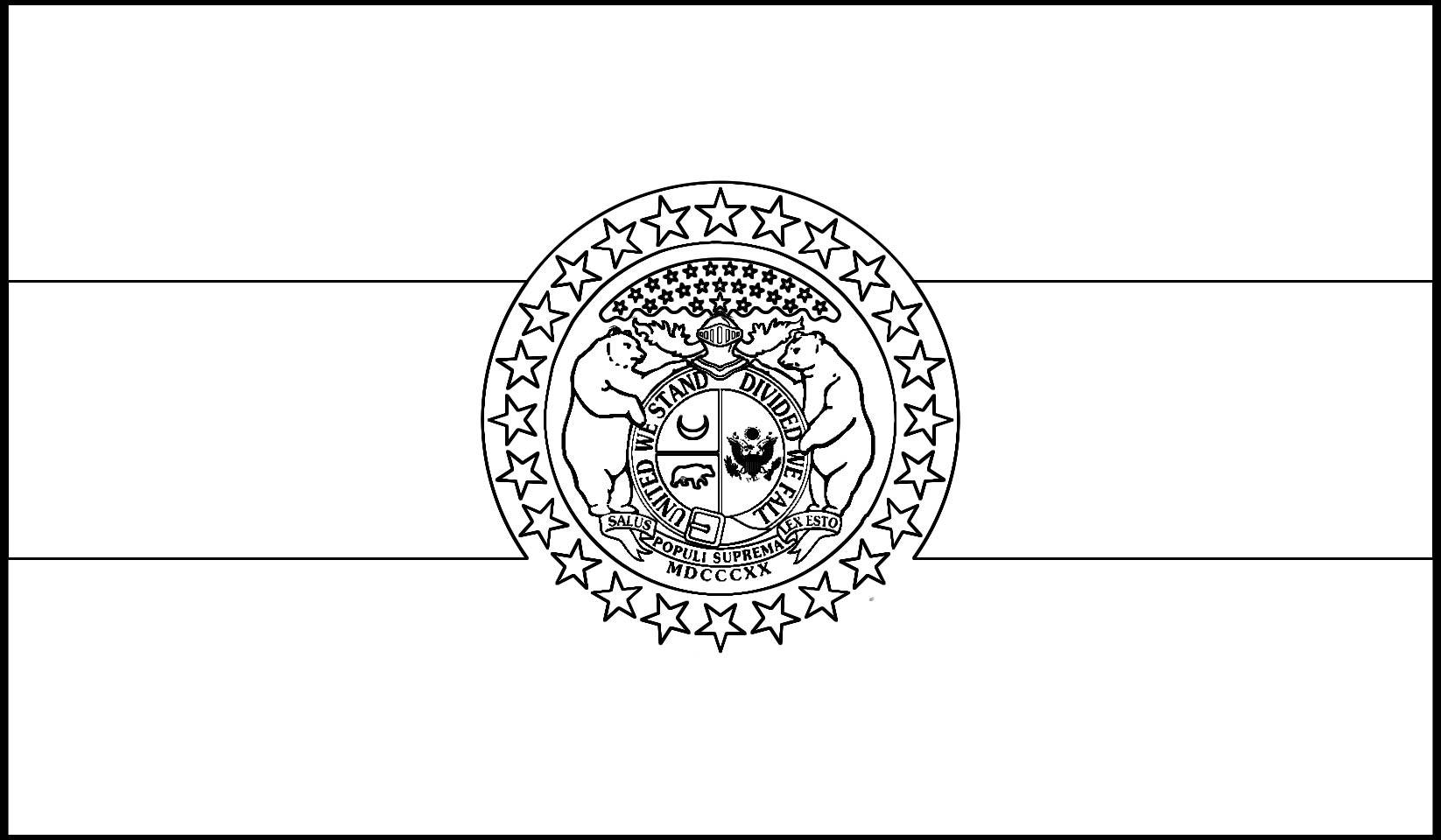 Missouri state flag download missouri state flag line drawings jpg buycottarizona