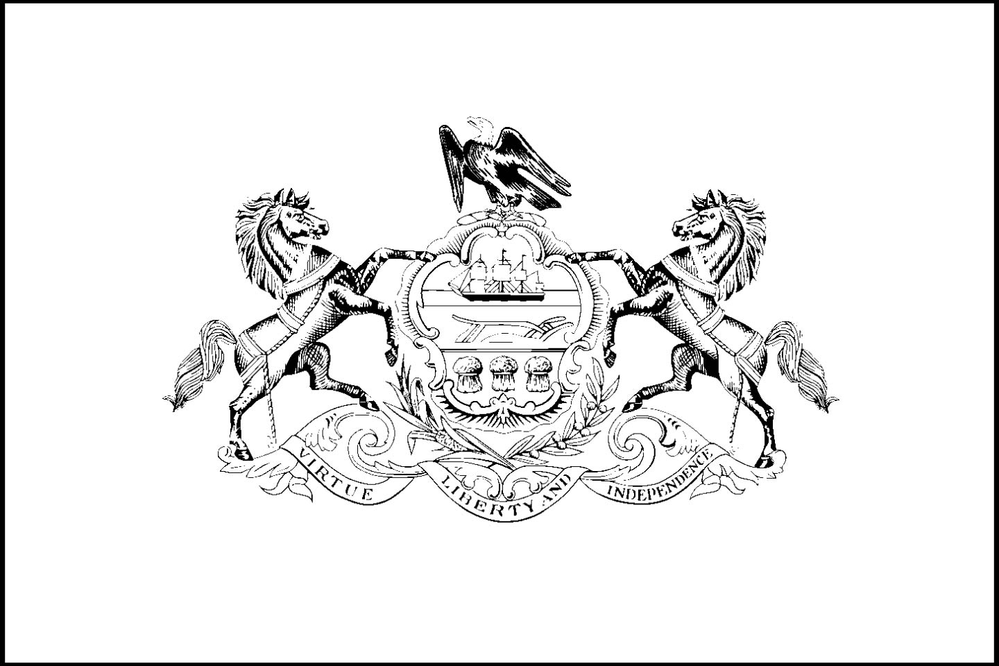 download pennsylvania state flag line drawings jpg