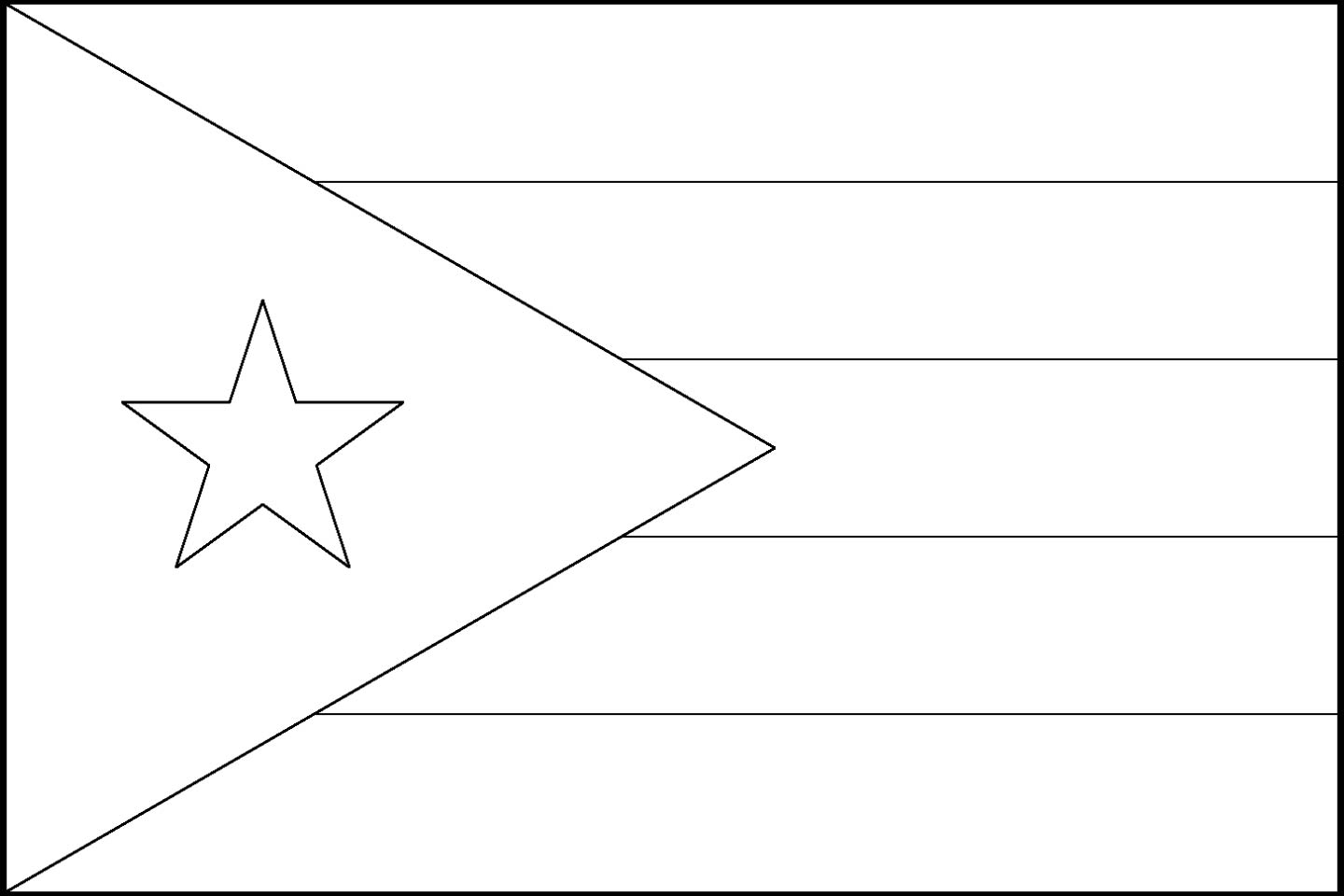 Puerto rico state flag download puerto rico state flag line drawings jpg biocorpaavc Image collections
