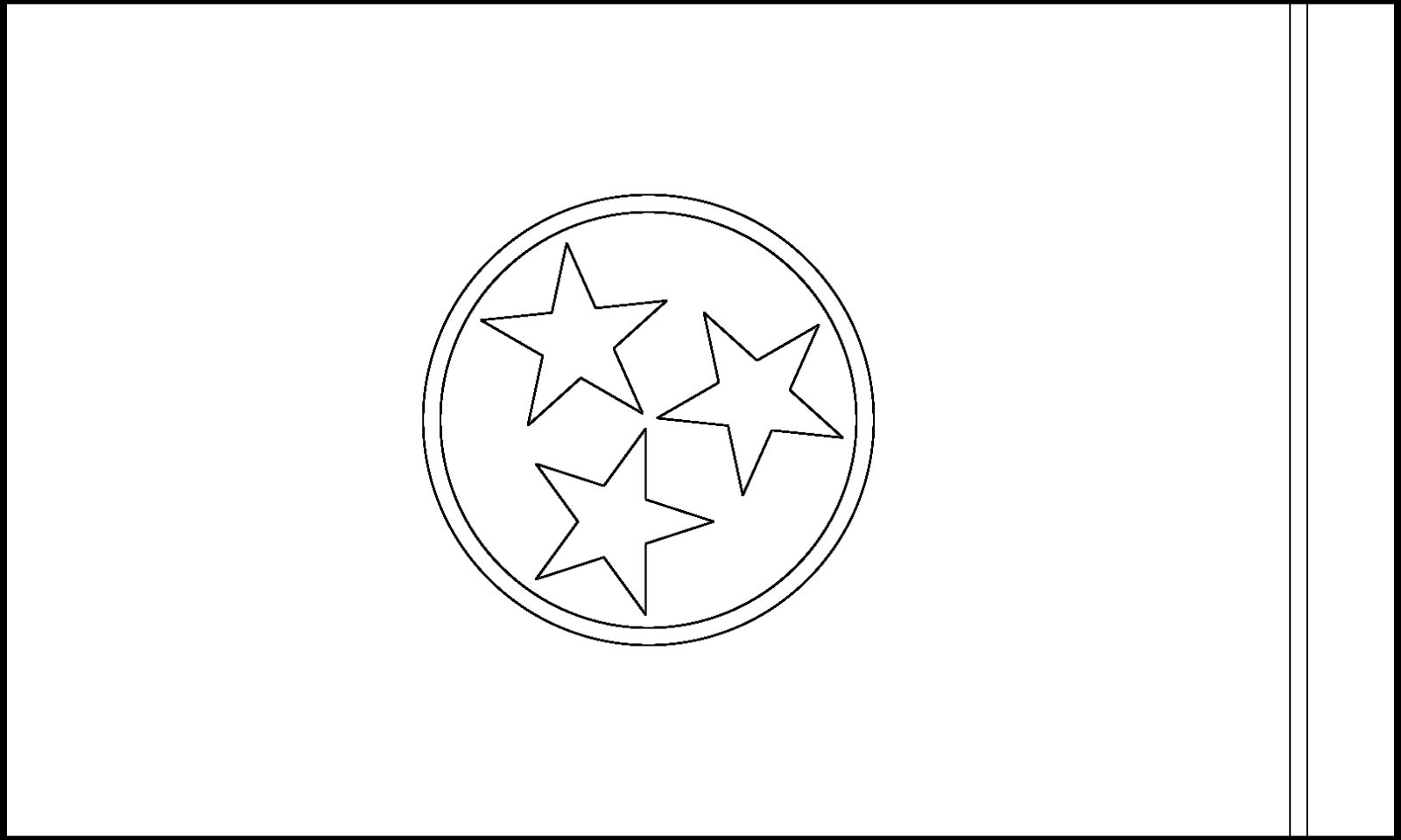 download tennessee state flag line drawings jpg