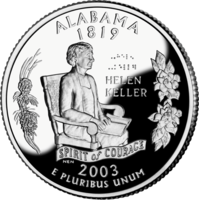 Alabama quarter
