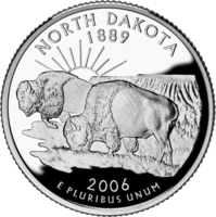 North Dakota quarter
